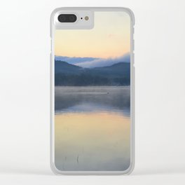 Mysterious Morning Clear iPhone Case