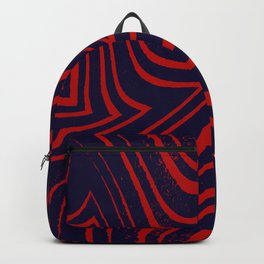 Zebra Grunge 5 Backpack