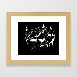 MMA Framed Art Print