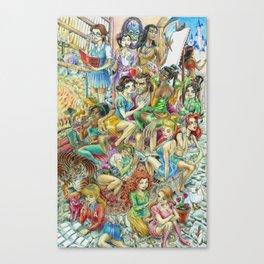 Fairy Tales Tell Tales Canvas Print