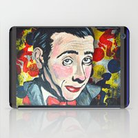 pee wee iPad Cases featuring Pee Wee by Portraits on the Periphery