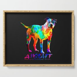 American Staffordshire Terrier - Amstaff Serving Tray