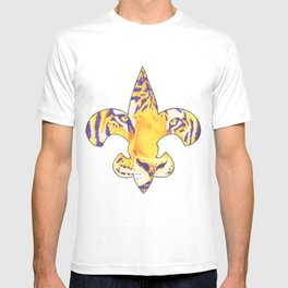 Fleur De Lis LSU Tiger T-shirt