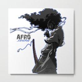 Afro Samuraiart Metal Print
