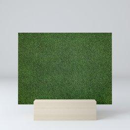 Bright Lush Green Grass Mini Art Print