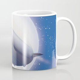 Travel the World - go by airship Coffee Mug