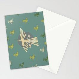 Nazca Lines (Condor) - Blue - Peru Stationery Cards