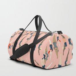 Vintage diving ladies Duffle Bag