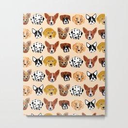 Dogs! Metal Print
