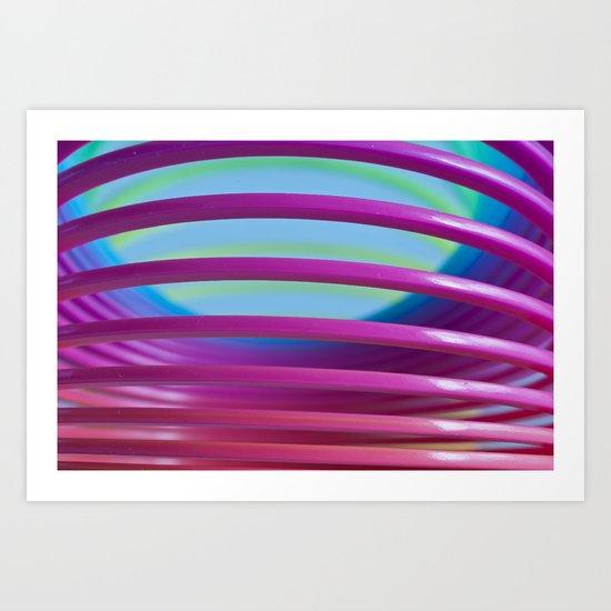 Rainbow Spring 9 Art Print
