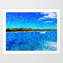saona island Art Print