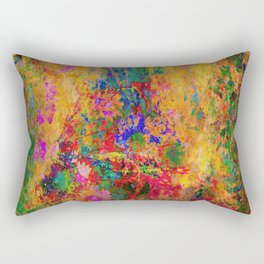 Flowers: Multi Color Daisies Rectangular Pillow