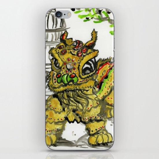 Lion Dance  iPhone & iPod Skin