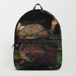 John Everett Millais Ophelia Painting Backpack