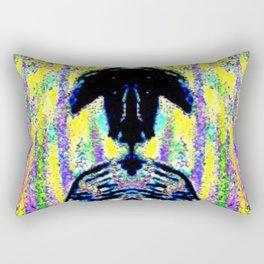 Chaotic Bishop Rectangular Pillow