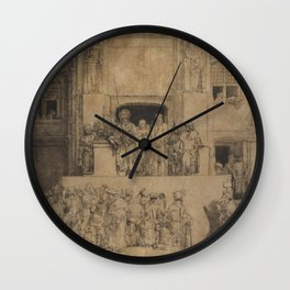 Christ Presented to the People Wall Clock