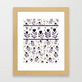 tiptoe through the tulips ... Framed Art Print