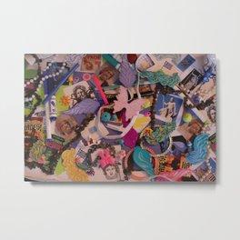 Hidden Objects Toys Metal Print