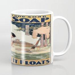 Vintage poster - Soap Coffee Mug