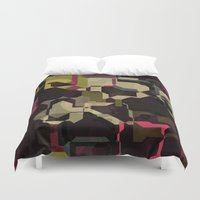 techno Duvet Covers featuring Techno puzzle by laly_sb