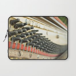 On Key Abandoned Piano Urbex, Urban Exploration, Music, Musical, Instrument Laptop Sleeve