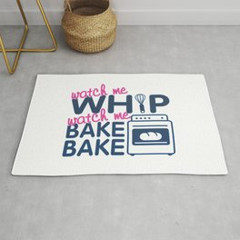 WATCH ME BAKE BAKE Rug
