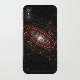 Space & Particles - GodEye 02 iPhone Case