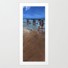 Fistral Beach Art Print