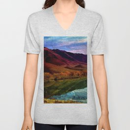 Autumn is Colorful Unisex V-Neck