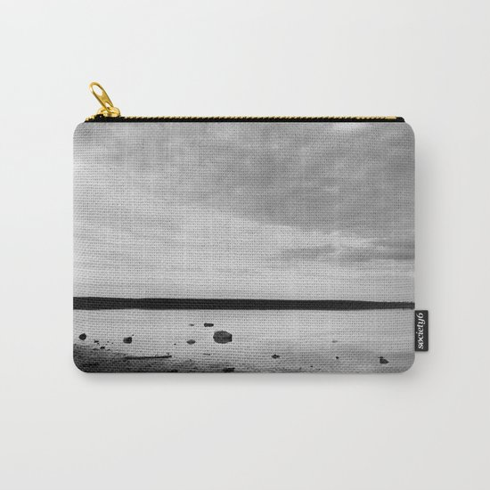 ISLAND STORIES IX BW Carry-All Pouch