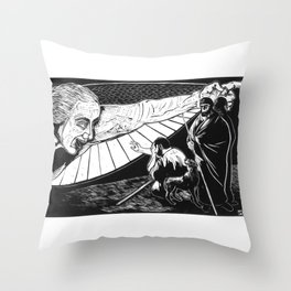 Announcement to Shepherds Throw Pillow