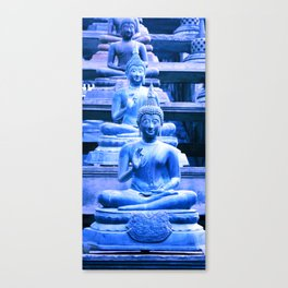 All of us feel the blues sometimes... Canvas Print