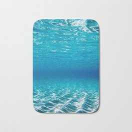 Aqua Blue Bliss Bath Mat