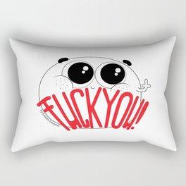 CutiePeas - Fcuk You! Rectangular Pillow
