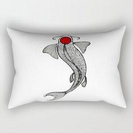 Tancho Koi Rectangular Pillow
