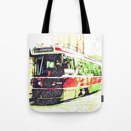 501 Street car Tote Bag