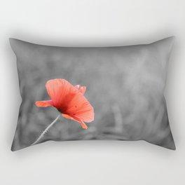 Poppy flower plant Rectangular Pillow