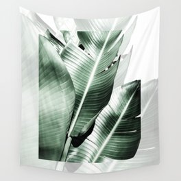 Banana leaf akin Wall Tapestry