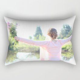 Breathe a Prayer Rectangular Pillow