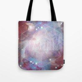 Faith - icosahedron Tote Bag