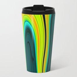 Abstract Fluid 17 Travel Mug