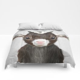 Baby Goat - Colorful Comforters