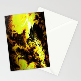son goku deragon ball Stationery Cards