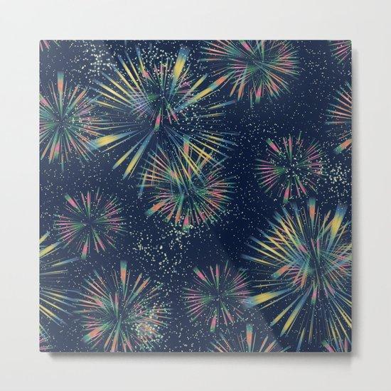 Fireworks! Metal Print