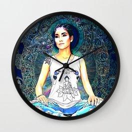 The Stars and Moon Wall Clock