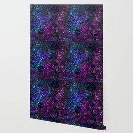 90's Space Bowling Carpet Wallpaper