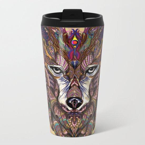 Shaman's Whisper Metal Travel Mug