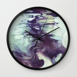 Drift Wall Clock