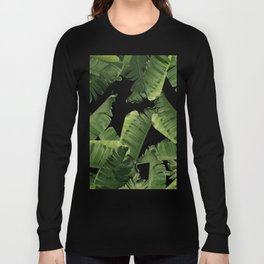 Banana Green Long Sleeve T-shirt