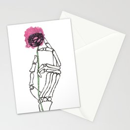 Life in the Hands of Death Stationery Cards